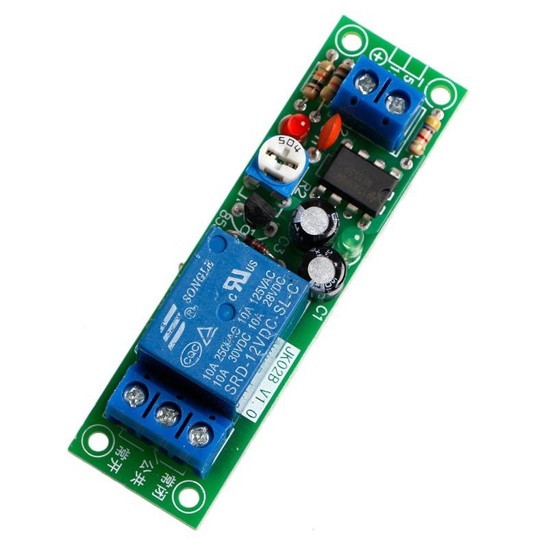 Модуль таймера на NE555, Таймер задержки регулируемый 0-60 секунд