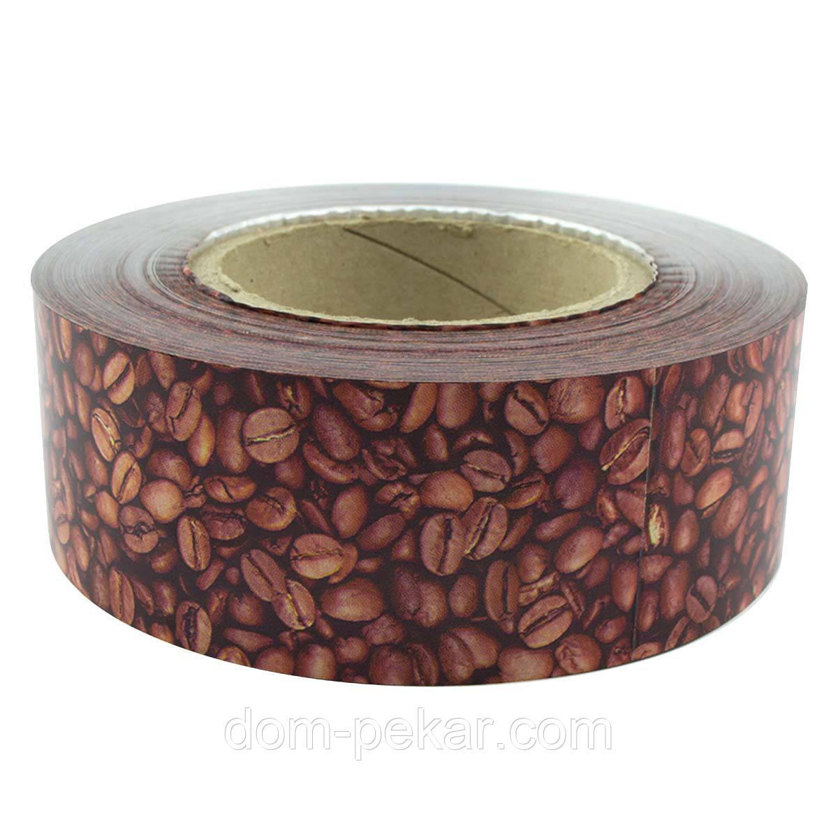Бордюрная лента Кофе Н=50 мм (м.)