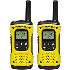 Портативная водонепроницаемая рация Motorola TLKR T92 H2O Yellow, фото 2