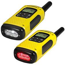 Портативная водонепроницаемая рация Motorola TLKR T92 H2O Yellow - 2 шт, фото 3