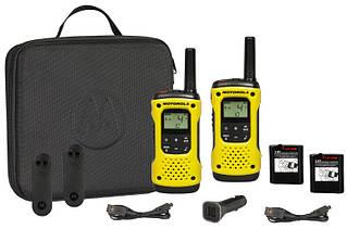 Портативная водонепроницаемая рация Motorola TLKR T92 H2O Yellow
