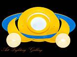 Детская припотолочная люстра желтого цвета 8344, фото 2