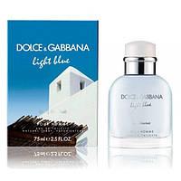 """Мужская туалетная вода """"Dolce&Gabbana Light Blue Living Stromboli Pour Homme"""" (125 мл)"""