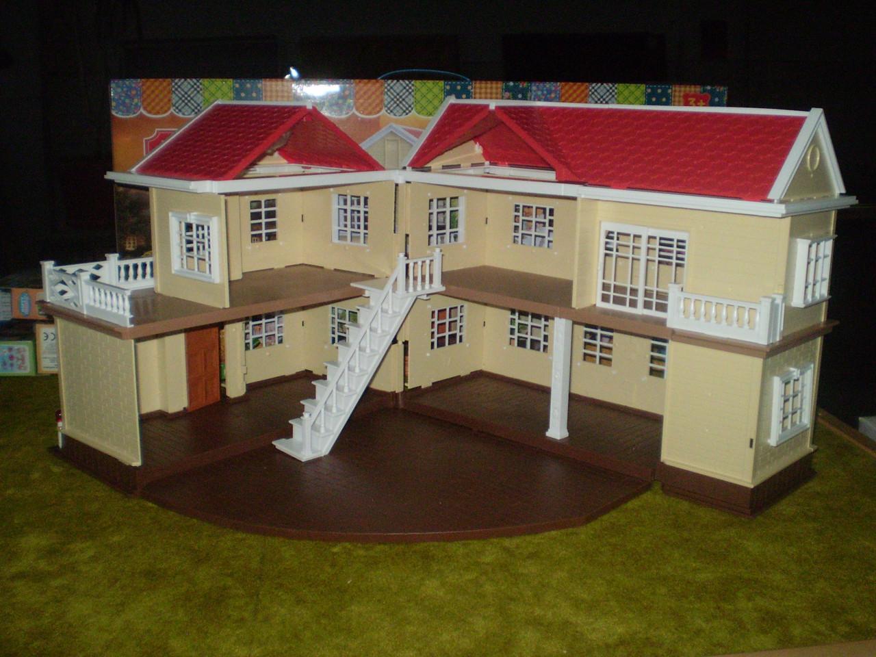 Дом 2-х этажный 1512 Happy family аналог Sylvanian Families, для ЛОЛ