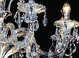 Изящная классическая хрустальная люстра 239/8, фото 4
