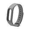 Ремешок MiJobs для фитнес-браслета Xiaomi Mi Band 2 Серый