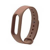 Ремешок браслет Mijobs для Xiaomi Mi Band 2 коричневый