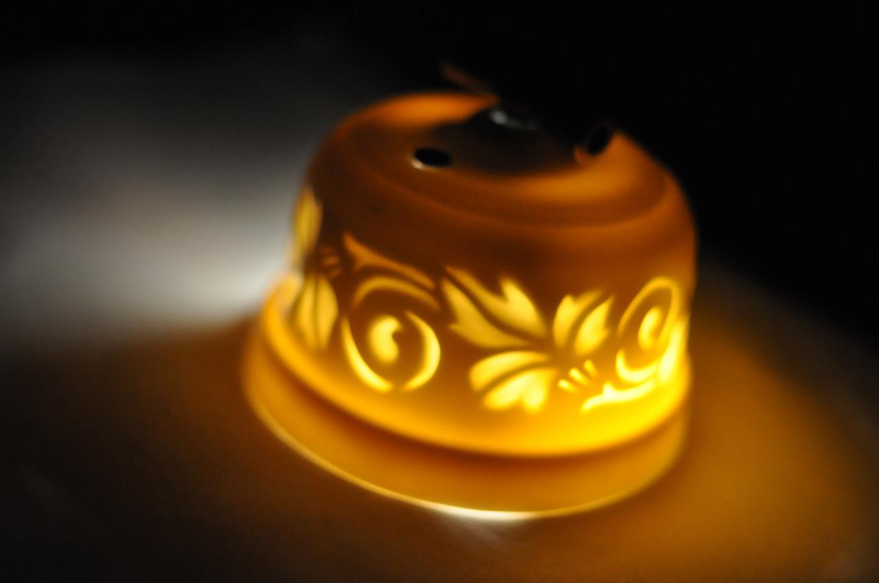Выключатель поворотного типа 1-клавишный, проходной, с подсветкой Bagliore convolvolo, серия Azur
