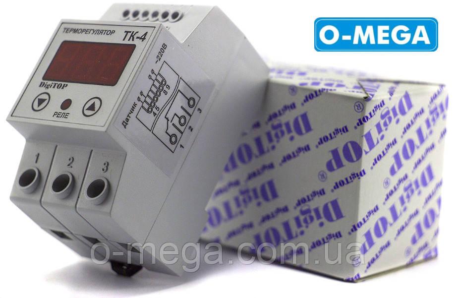 Терморегулятор DigiTOP ТК-4 одноканальный двухрежимный