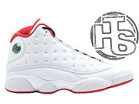 Мужские кроссовки Air Jordan 13 Retro History Of Flight 2017 White/Red 414571-103