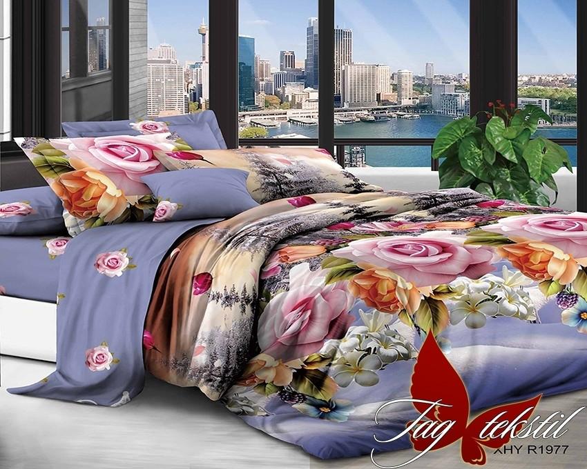Комплект постельного белья XHY1977 семейный (TAG polycotton (sem)-421)