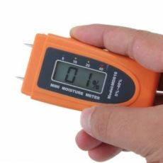 Влагомер древесины, бумаги, продуктов питания измеритель влаги игольчатый MD816