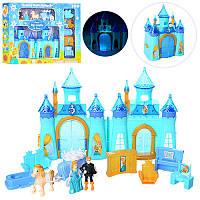 Замок CB688-6F (12шт) принцессы 16-22см карета,мебель,фигурки,муз,св,бат(таб),в кор,51,5-36,5-6,5см