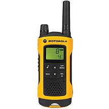 Портативная рация Motorola TLKR T80 Extreme Yellow, фото 2
