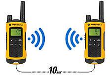 Портативная рация Motorola TLKR T80 Extreme Yellow, фото 3