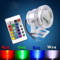Подводный прожектор LED RGB IP68 10W 220V