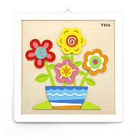 Набор для творчества Своими руками Цветы Viga toys (50685)