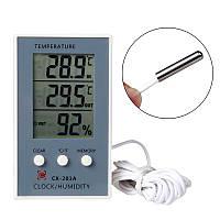Гигрометр термометр электронный CX-201 A измеритель влажности воздуха
