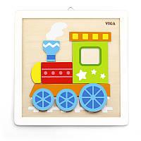 Набор для творчества Своими руками Паровозик Viga toys (50686)