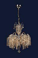 Люстра подвесная хрустальная на 5 ламп