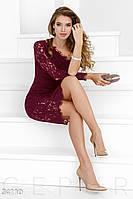Неординарное коктейльное платье