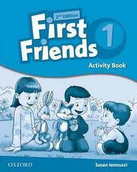 First Friends 2nd Edition 1 Activity Book (робочий зошит)
