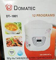 Мультиварка Domatec dt-1801 12 программы