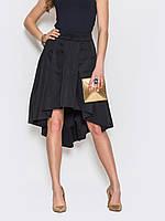 Стильная юбка со шлейфом