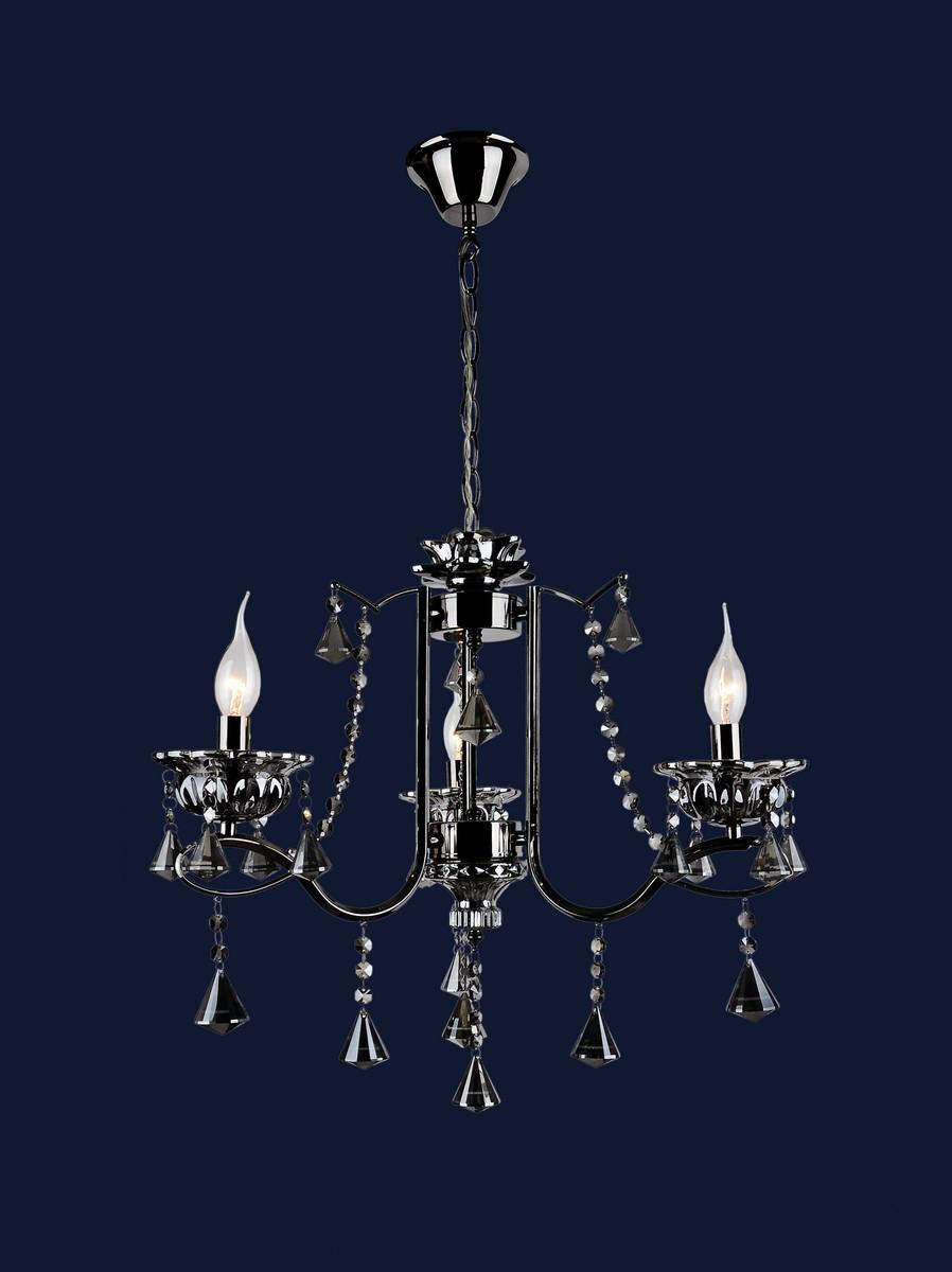 Люстра классическая с открытыми лампами 7021311-3 BK