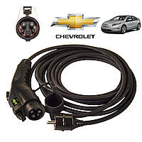 Зарядное устройство для электромобиля Chevrolet Volt AutoEco J1772-16A, фото 1