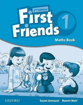 First Friends 2nd Edition 1 Maths Book (книжка з математики), фото 2