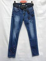 Джинсы женские с вышивкой DRAGON (25-30)