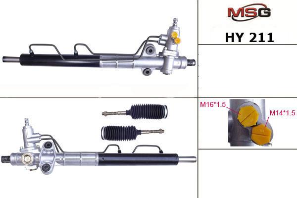 Рульова рейка з ГУР Hyundai Sonata, Kia Magentis HY211