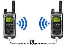 Портативная рация Motorola TLKR T80 Black, радиус действия 10 км., фото 3