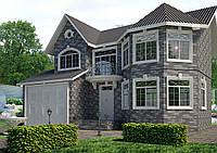 Строительство, Дом Классика 195м2