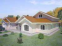 Строительство, Дом Безрадичи 420м2