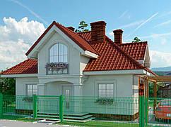 Строительство, Дом белая акация 133м2