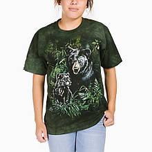 3D футболка женская The Mountain р.M 50 RU футболки женские с 3д (Медведица сМедвежонком)