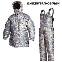 Костюм  Егерь  диджитал серый   XL/56-58