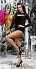 Женский модный боди из велюра , фото 2
