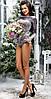 Женский модный боди из велюра , фото 4