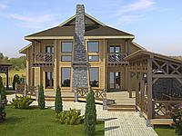 Строительство, Дом Лютеж 350м2