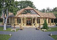 Строительство ресторана, Ресторан Карпаты 350м2