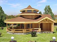 Строительство бани, Баня Ксения 121м2