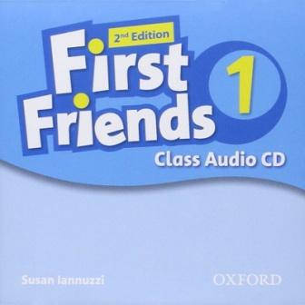 First Friends 2nd Edition 1 Class Audio CD (аудио диск), фото 2