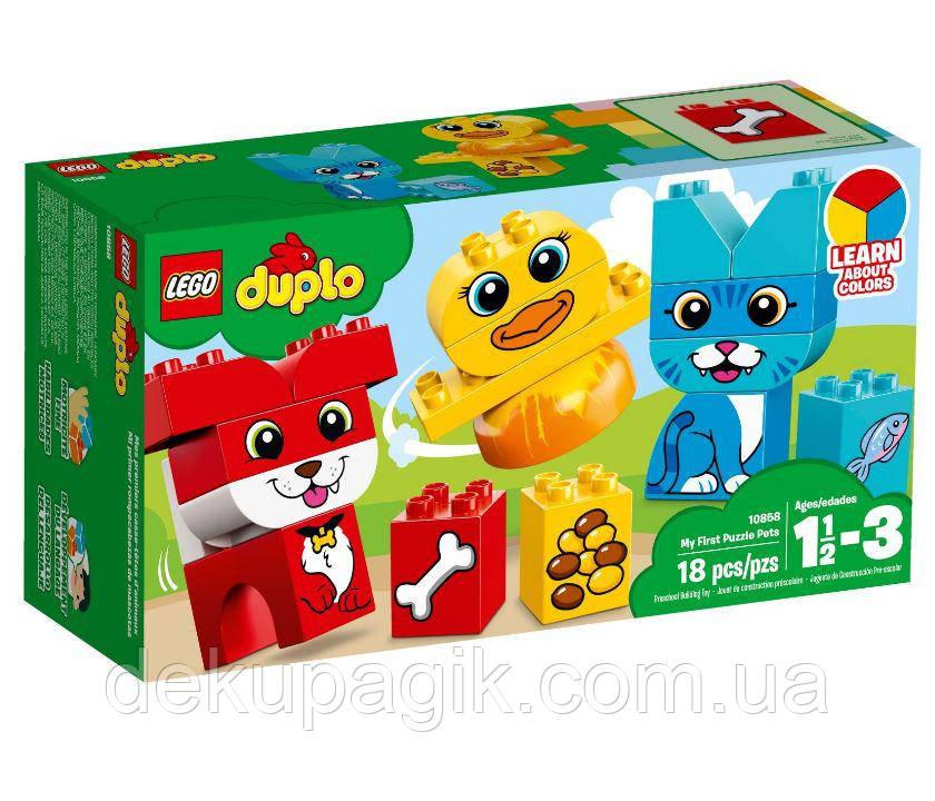 Lego Duplo Мои первые домашние животные 10858