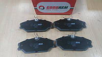 """Колодки тормозные передние RENAULT CLIO II 2.0 2000>, LACUNA I 1.6-3.0 1993-2001; """"GOODREM"""" RM1204 - Венгрия, фото 1"""