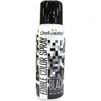 Краска-спрей Chefmaster, Edible Color Spray, (черный).