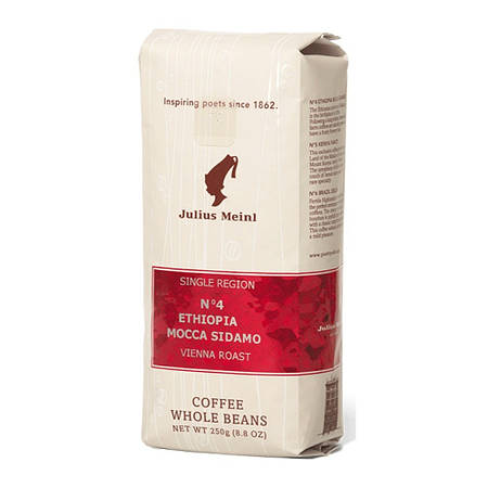 Кофе в зернах Julius Meinl Ethiopia Mocca Sidamo 250г