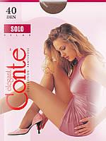 Женские колготки Conte Solo 40 den размеры 5, 6